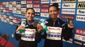 Mexicana de 20 años se 'cuelga' medalla en clavados sincronizados de Mundial de Natación