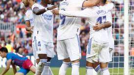 Real Madrid derrota al Barcelona por marcador de 1-2 en el Camp Nou