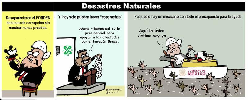Desastres naturales - Garcí