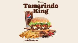 ¿Hamburguesas con un toque de tamarindo? Burger King las lleva hasta tu mesa