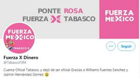 Hackean cuenta del partido Fuerza por México en Tabasco y ahora se llama 'Fuerza por dinero'