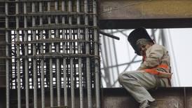 Construcción se 'derrumba' 10.3% durante mayo
