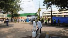 Dan luz verde a la remoción de escombros del colegio Rébsamen
