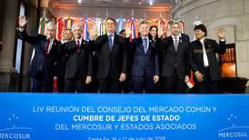 La salida de Maduro, tema de Mercosur