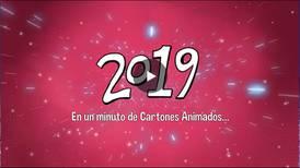 2019 en un minuto animado