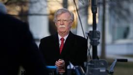 Trump está 'abierto a conversar de nuevo' con Corea del Norte: Bolton