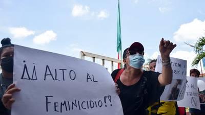 Se registran 107 feminicidios en agosto, la cifra más alta en el Gobierno de AMLO