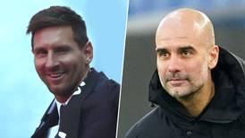 Un reencuentro 'anhelado': Guardiola espera que Messi se recupere y juegue vs. el Manchester City