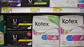 Tasa cero a productos de gestión menstrual