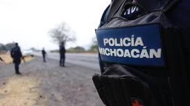 Balacera entre policías de Michoacán deja tres muertos