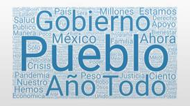 Pueblo, Gobierno, año: las palabras más mencionadas por AMLO en el Segundo Informe