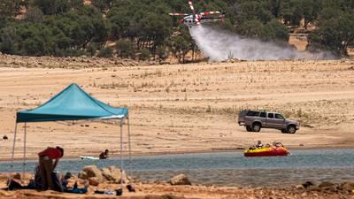 Otra del calentamiento global: apagones masivos e incendios amenazan a California