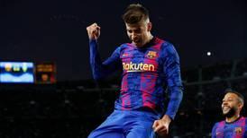 Con gol de Gerard Piqué, Barcelona derrotó al Dínamo de Kiev en la UCL