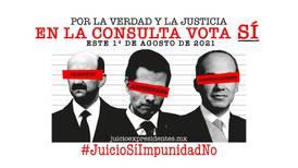 'Se busca': así promocionan consulta popular de juicio contra expresidentes en colonias de la CDMX