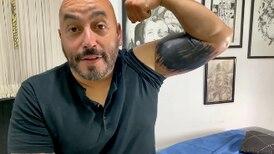 Lupillo Rivera comparte proceso con el que borró su tatuaje del rostro de Belinda