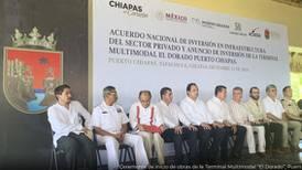 Inicia construcción del primer proyecto del Acuerdo de Inversión en Infraestructura  en Chiapas