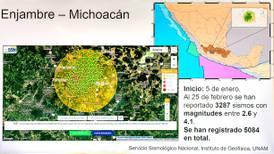 Científicos de la UNAM descartan que esté naciendo un volcán en Michoacán