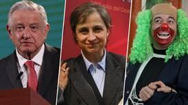 'Los Maléficos', la lista de investigados por el Gobierno de Peña que incluía a AMLO, Aristegui y Brozo