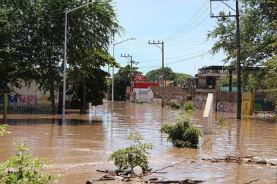 Huracán 'Pamela' deja más de 10 mil damnificados en Nayarit y Sinaloa