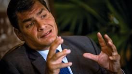 Justicia de Ecuador ratifica a Rafael Correa sentencia de 8 años de prisión por corrupción