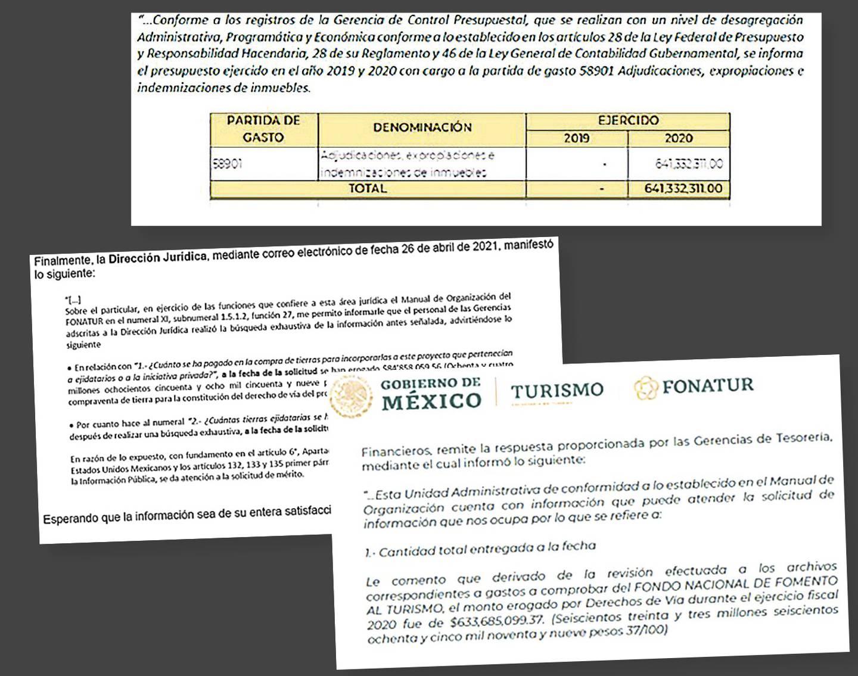 Fonatur da diferentes cifras sobre gastos por derecho de vía para Tren Maya