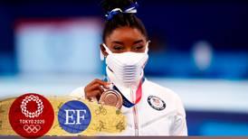 Simone Biles reaparece y gana bronce en la viga de equilibrio en Tokio 2020