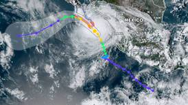 Así puedes seguir en vivo la trayectoria del huracán 'Olaf' que amenaza a México