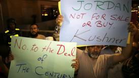 Jordania y Estados Unidos discrepan sobre estado palestino