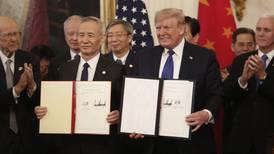 Con el acuerdo 'fase uno' de EU y China, ¿se acabó la guerra comercial?