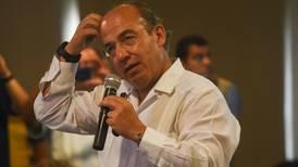 Es falso que mi gobierno tuviera información sobre nexos de García Luna con el narcotráfico: Calderón