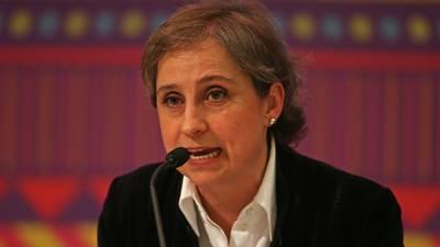 Aristegui critica nueva sección de la mañanera: 'Está fuera de todos los estándares democráticos'
