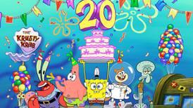 '¡Sí capitán, estamos listos!' para festejar los 20 años de Bob Esponja