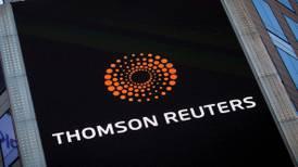 Thomson Reuters 'pisa fuerte' en el segundo trimestre