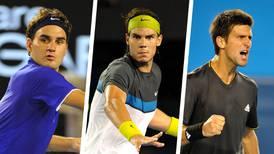 ¿Federer, Nadal o Djokovic? Así va la lucha por ser el más grande tenista de la historia