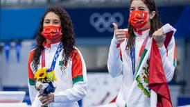 ¿Hicieron mal? Critican en redes a las clavadistas Ale Orozco y Gaby Agúndez por 'festejar' error de sus rivales
