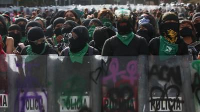 El recorrido de la lucha feminista en México durante el 2020