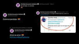 El PES celebra el matrimonio igualitario en Baja California... ¿Qué? ¿los 'hackearon'?