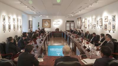 Dirigentes sindicales, empresariales y Gobierno logran acuerdo sobre outsourcing y utilidades: AMLO