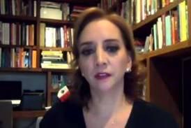 Claudia Ruiz Massieu: Los mexicanos no necesitan la iniciativa de reforma eléctrica de AMLO
