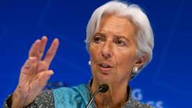 BCE acepta candidatura de Lagarde como sucesora de Draghi