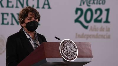 A Delfina ya la ven de candidata al Edomex, dice AMLO sobre multa del INE por 'diezmos'