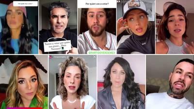Estos son los influencers y celebridades que le hicieron el 'trabajo sucio' al Verde