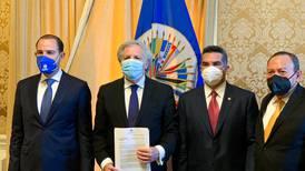 'Va por México' denuncia ante la OEA presunta intromisión del crimen organizado en elección