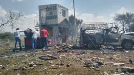 Explosión en polvorín en Zumpango, Estado de México, deja hasta el momento 2 muertos