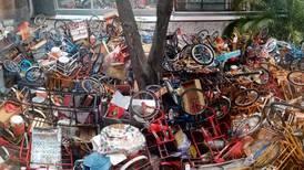 Retiran triciclos a vendedores en alcaldía Miguel Hidalgo; laboraban en Polanco y Granada