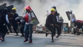 Al menos 6 manifestantes mueren en protestas de Myanmar