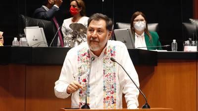 Fernández Noroña logró la reelección en la Cámara de Diputados y así lo celebró...