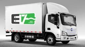 Foton busca oportunidad para colocar camiones eléctricos en el transporte secundario mexicano