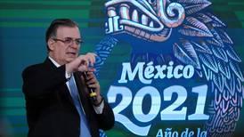 Ebrard dice que gestión de Luis Almagro en la OEA es 'una de las peores en la historia'