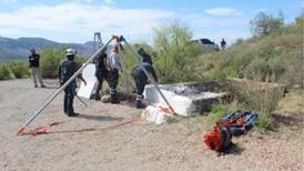 Narco utilizaba tiro de mina como cementerio clandestino
